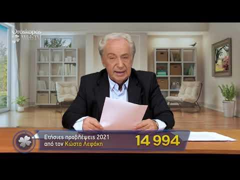 Σκορπιός 2021 Ετήσιες Προβλέψεις Κώστα Λεφάκη σε βίντεο