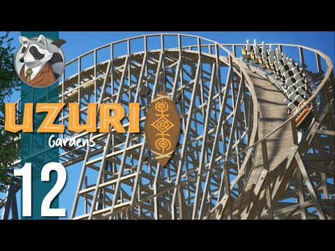 🌴SILVerback | Uzuri Gardens | Let's Play Planet Coaster #12