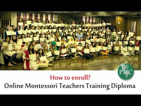 Online Montessori Training Diploma - How to Enroll?