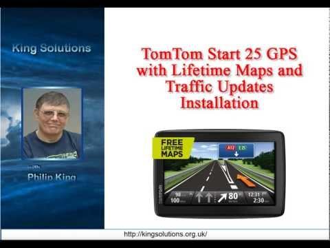 TomTom Start 25 GPS Navigation System Software Installation
