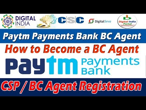 Become PayTM Payment Bank BC Agent and Start Online Earnings