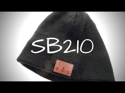 Soundbot SB210 Bluetooth Beanie – Skull Cap with Headphones