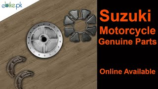 Suzuki Motorcycle / Bike  Genuine Parts | ebikeshop.pk
