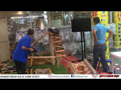 Mr.Brian Parker Play & Enjoy at Hobby Sportz Dubai
