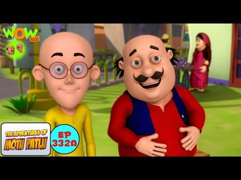 Motu Patlu Cartoon in Hindi | Din Dhade Chori | 3D Animation Cartoon For Kids
