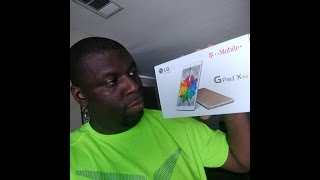 T-Mobile LG G Pad X 8.0 Unboxing!