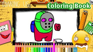 Among Us - Space Dude Coloring Book By Y8 - Y8 Games