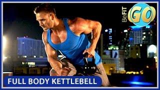 Full Body Strength Kettlebell Workout: BeFiT GO- 10 Mins by BeFiT