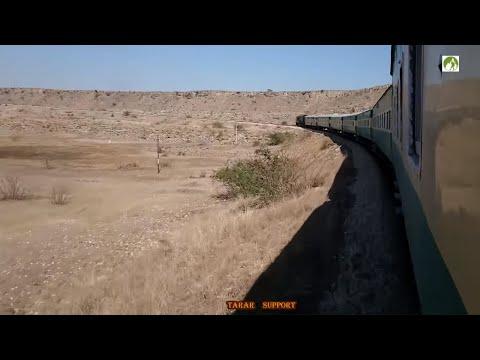 Mianwali To Rawalpindi by Thal Express Railway Journey 2019