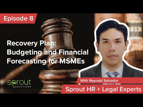 Episode 8: Recovery Plan: Budgeting and Financial Forecasting for MSMEs