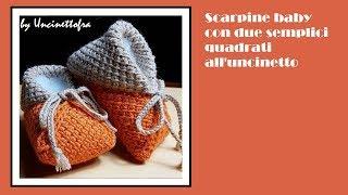 Download Tutorial Calze Baby Neonato All Uncinetto Crochet Baby