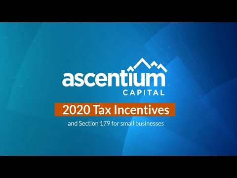 2020 Section 179 Tax Savings: Your business may deduct $1.04 million or more Video