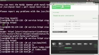 Tutorial Servidor Web Linux: Instalação do Apache, PHP e MySQL no CentOS