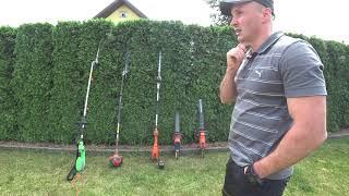 Test nożyc do żywopłotu husqvarna lidl aku vs spalinowe vs elektryczne