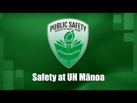 Safety at UH Mānoa