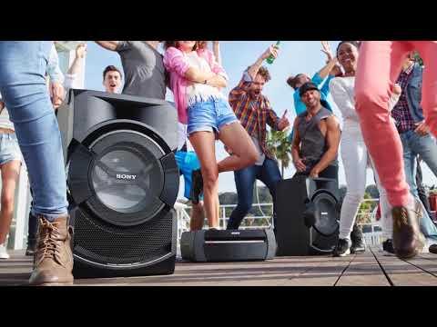 Музыкальный центр Sony SHAKE-X30D видео 1