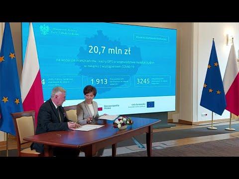 Blisko 21 milionów złotych wsparcia dla Domów Pomocy Społecznej