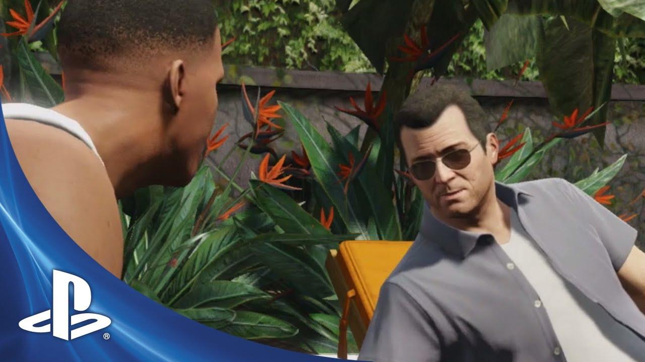 Nuevo tráiler de Grand Theft Auto V