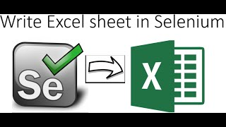 How to write excel file in Selenium using Apache POI