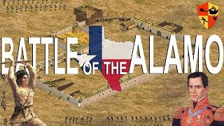 Battle of The Alamo 1836 (Texas Revolution)