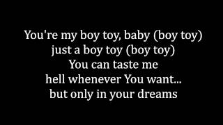 Angy - boy toy (letra)
