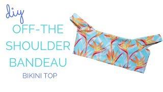 DIY Off The Shoulder Bikini Top || Katie Fredrickson