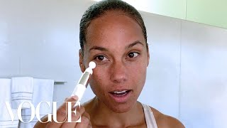 Alicia Keys Guide To Wellness-Inspired Beauty | Beauty Secrets | Vogue