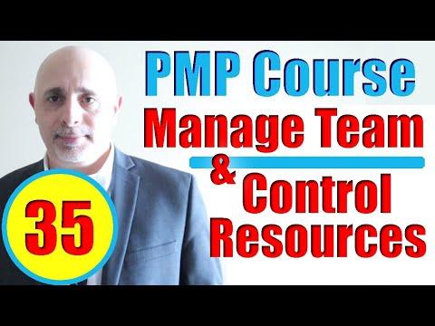 Manage Team & Control Resources Processes | PMBOK6 | Full ...