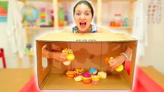 COSA C'È NELLA SCATOLA?! - What's in the box challenge paffy yummy