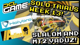"DCL The Game - Pressure FPV ""Slalom"" & MT2 ""Vaduz"" - Track Guide! Solo Trials: Week 13 2021!"