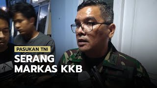 Kronologi Markas KKB di Intan Jaya Digrebek Anggota TNI, 70 Anggota Kocar-kacir dan Ada yang Terluka