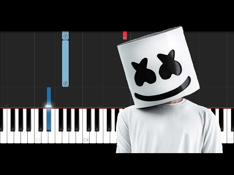 Marshmello - One Thing Right ft. Kane Brown (Piano Tutorial)