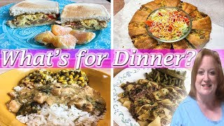 WHAT'S FOR DINNER? | SIMPLE MEAL IDEAS | COOK WITH ME | WEEK 8/5-8/10/2019
