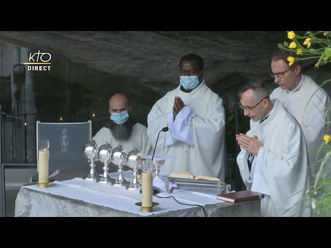 Messe de 10h à Lourdes du 5 juin 2021