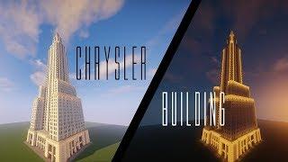 CHRYSLER BUILDING - Minecraft Timelapse