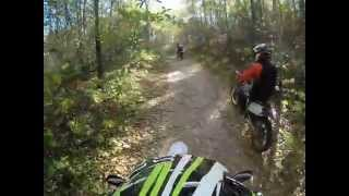AAC Dirt Bike Akeley MN Fall Riding 2014