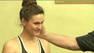 Шейный остеохондроз. (5 простых упражнений