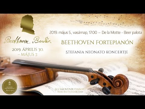 Beethoven Budán 2019 - Beethoven Fortepianón - video preview image