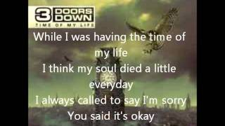 Heaven - 3 Doors Down (lyrics)