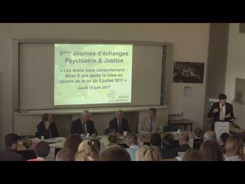 INTERVENTIONS LIMINAIRES - Psychiatrie & Justice CH La Chartreuse Dijon