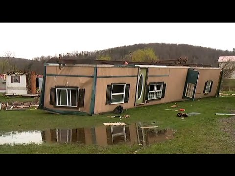 National Weather Service: Tornado Touched Down in Benton