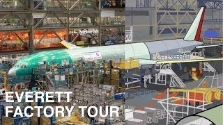 The real Boeing Everett factory tour