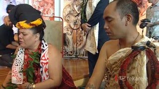 Emotional ceremony for the return of historic Hawaiian taonga