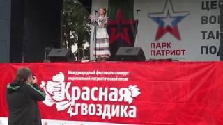 """""""Белые Журавли""""-""""Красная гвоздика"""" - Вероника Сыромля"""