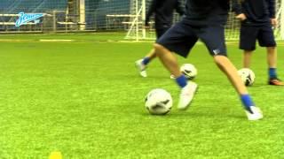 Академия футбола. Урок №6. Финт Мэтьюза