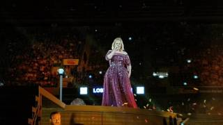Adele Live - Set Fire to the Rain - Auckland