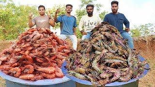 TIGER PRAWNS BIRYANI | INDIAN MADE PRAWNS FOR POOR |