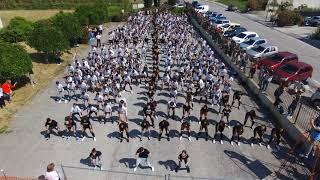 Il Liceo dice no alla violenza con un flash mob