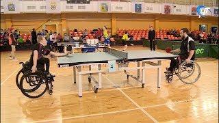 В Великом Новгороде стартовали Всероссийские соревнования по настольному теннису среди инвалидов