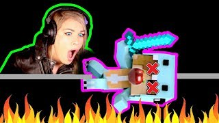 "★ DON'T MESS WITH MY SISTER! | PSYCHO GiRL'S REACTION to PSYCHO SiS 2 ROAST | ""I LOVE MY SWORD"""